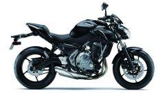 Kawasaki Z650: vista laterale