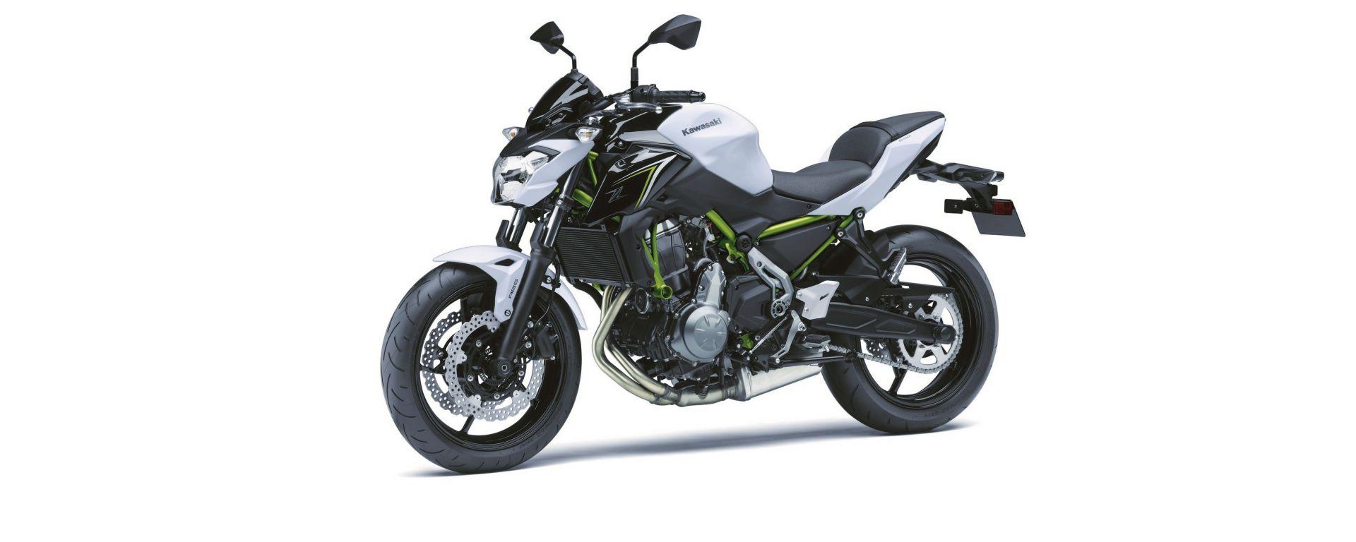 Kawasaki Z650: la nuova naked media a Eicma 2016