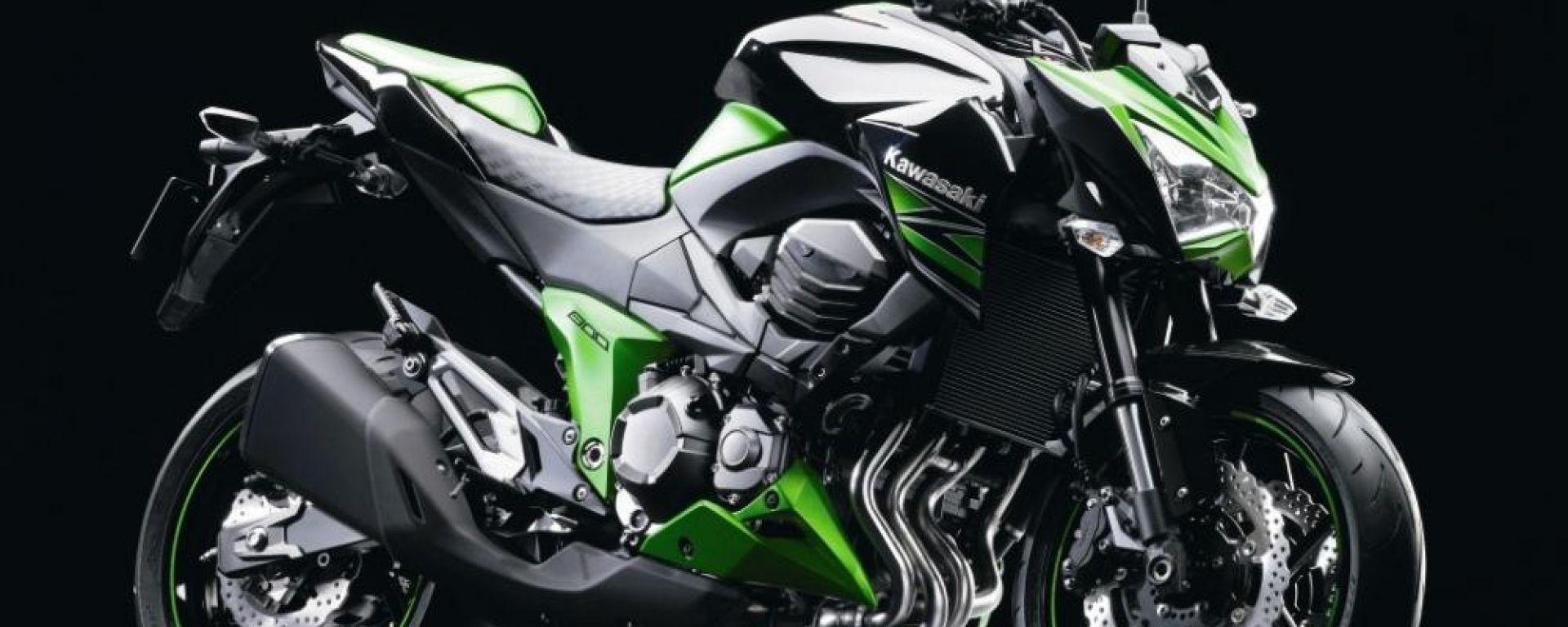 "Kawasaki Z800: le foto ""rubate"""