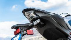 Kawasaki Z900 70 kW: dettaglio del faro posteriore