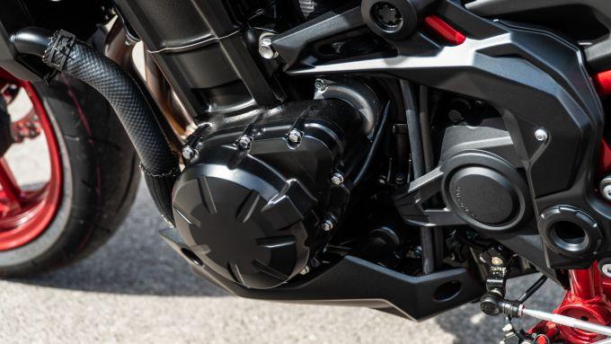 Kawasaki Z900 70 kW: il motore ha una mappatura specifica