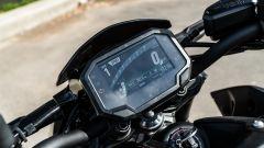 Kawasaki Z900 70 kW: la strumentazione TFT