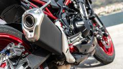 Kawasaki Z900 70 kW: promosso il sound con scarico di serie