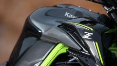 Kawasaki Z900, fianchetto