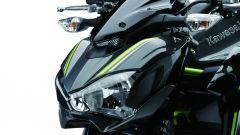 Kawasaki Z900: il gruppo ottico anteriore