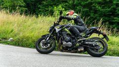 Kawasaki Z900, la prova