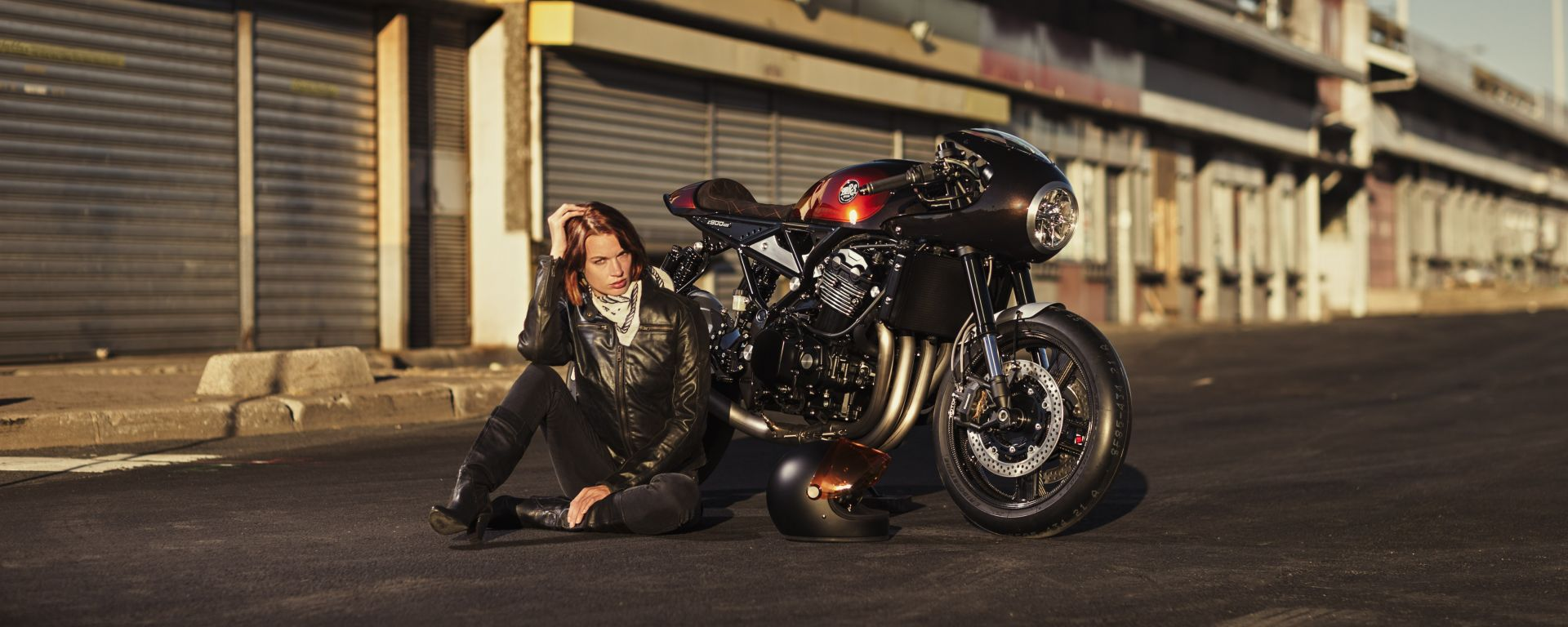 Kawasaki Z900 RS by MRS: Café Racer in salsa francese