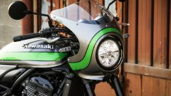 Kawasaki Z900RS Cafe 2019: dettaglio del frontale