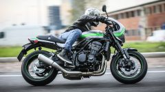 Kawasaki Z900RS Cafe 2019: un momento del test