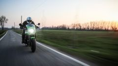 Kawasaki Z900RS CAFE: luci totalmente a LED