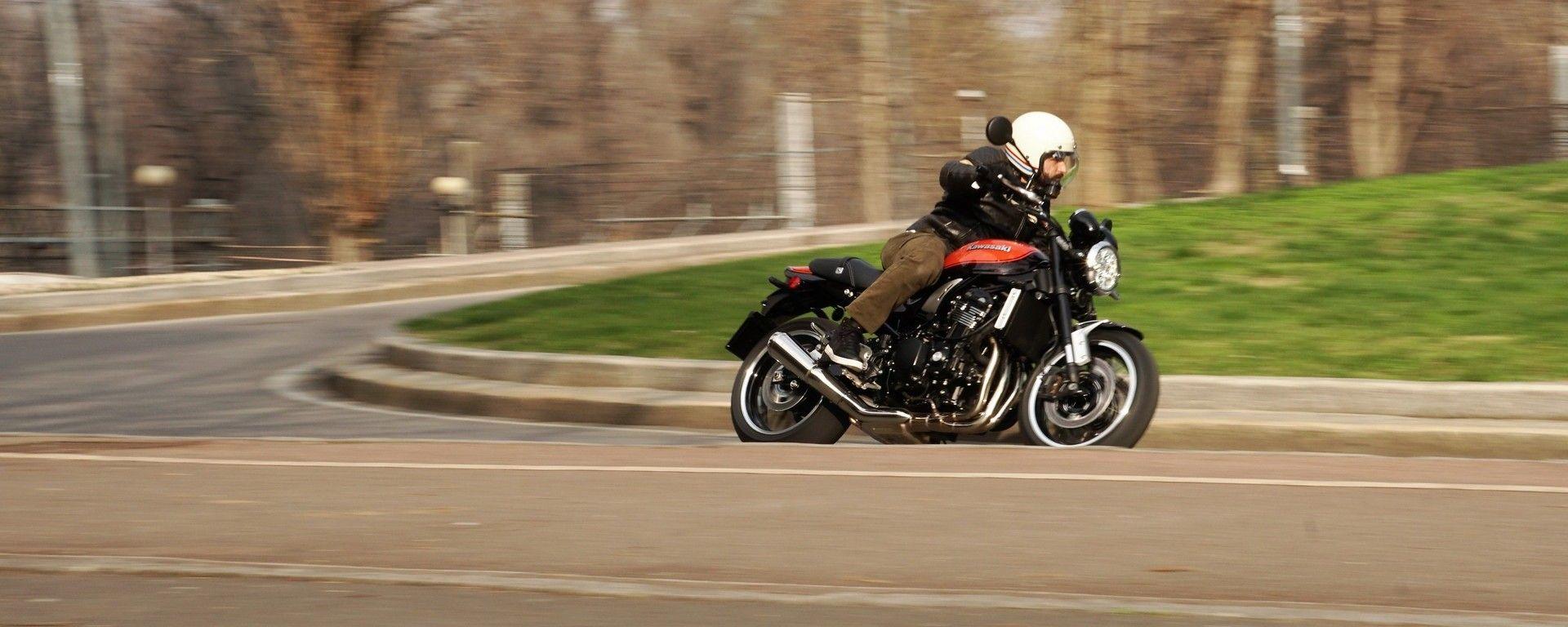 Kawasaki Z900RS: la ciclistica è da sportiva raffinata