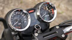 Kawasaki Z900RS: la strumentazione rispetta l'idea vintage