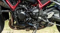 Kawasaki ZH2: dettaglio del motore