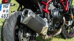 Kawasaki ZH2: dettaglio del terminale di scarico