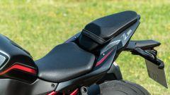 Kawasaki ZH2: dettaglio della sella