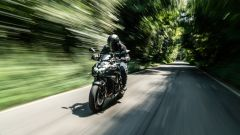 Kawasaki ZH2, la posizione di guida è confortevole