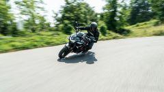 Kawasaki ZH2, preferisce le curve a medio raggio