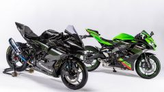 Kawasaki ZX-25R racing e standard a confronto