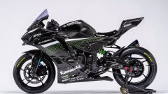 Kawasaki ZX-25R racing: vista laterale