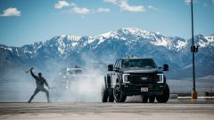 Ken Block a bordo di un F450 Super Duty
