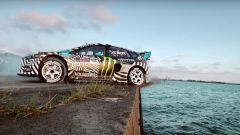 Ken Block Gymkhana Nine, volante Ford Focus RS Rallycross