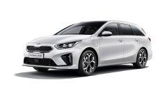 Kia Ceed Sportswagon Hybrid Plug-In: visuale di 3/4 anteriore