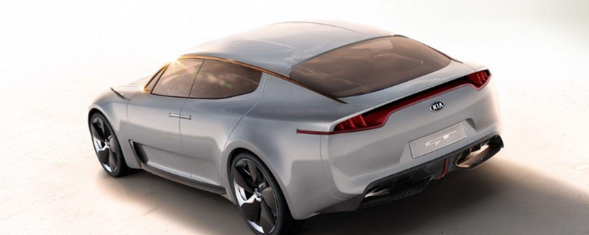 Kia GT Concept: le nuove foto