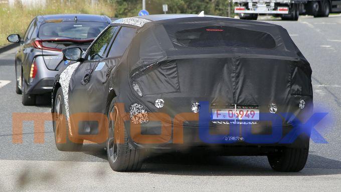 Kia EV 2021: visuale posteriore