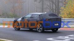 Kia EV crossover 2021: visuale di 3/4 posteriore