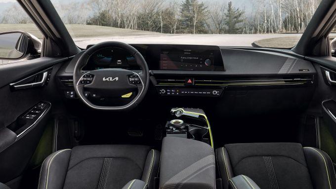 Kia EV6 GT: gli interni