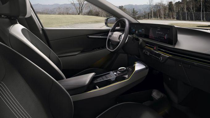 Kia EV6 GT-Line, gli interni