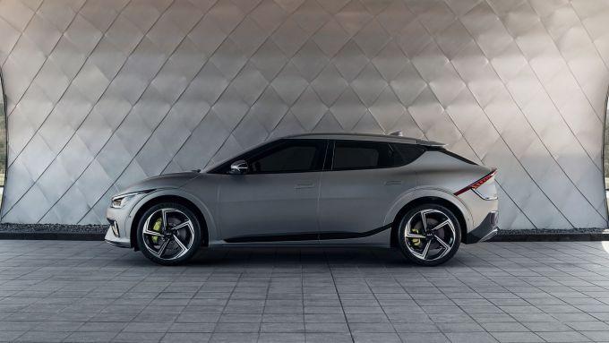Kia EV6 GT: visuale laterale