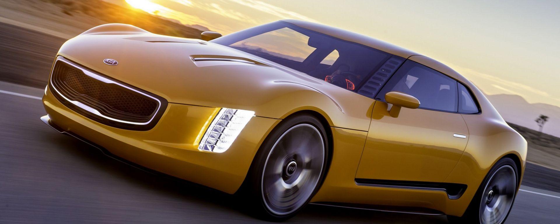 Kia GT4 Stinger: le foto ufficiali