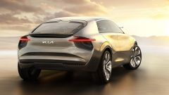 Kia Imagine: visuale di 3/4 posteriore
