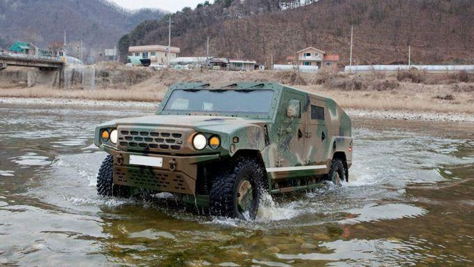 Kia KLTV: l'Humvee coreano
