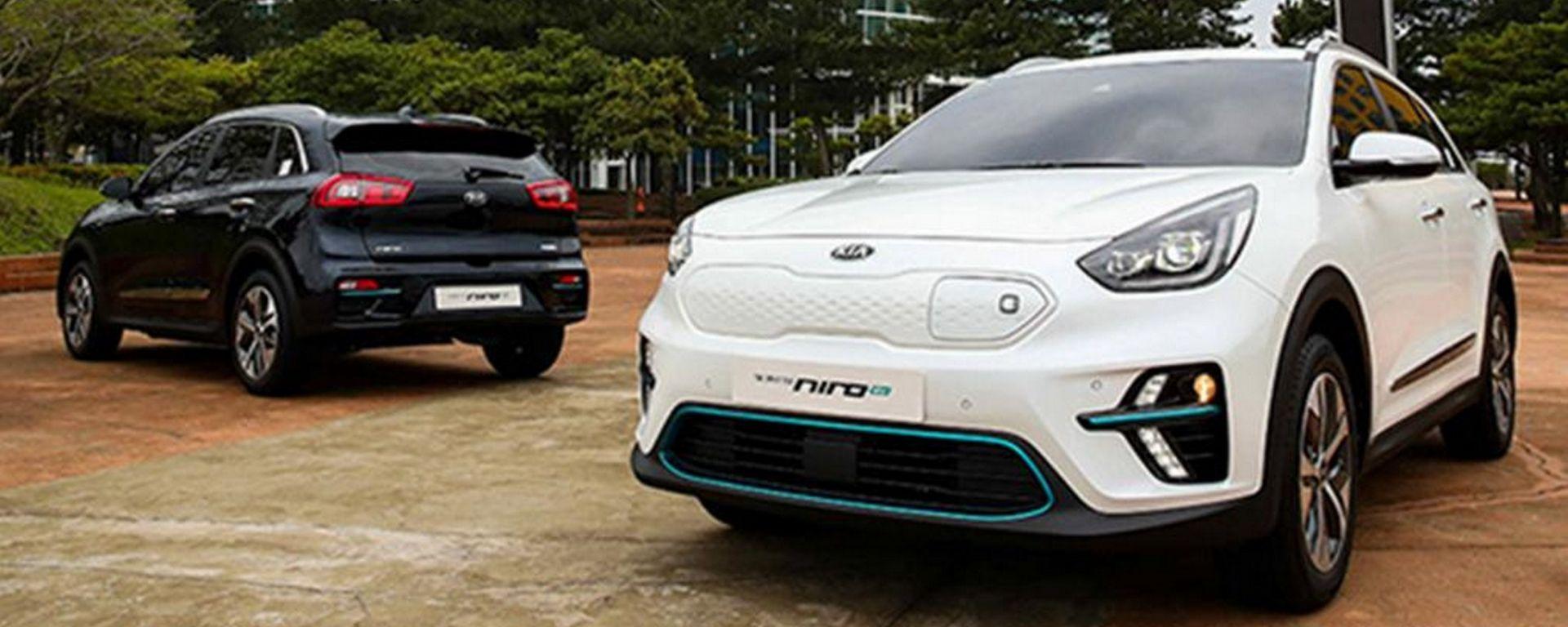 Kia Niro EV 2018: il SUV elettrico presentato prima in Corea