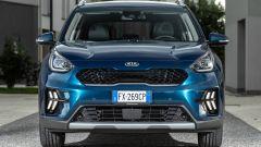 Kia Niro Hybrid 2019, il frontale