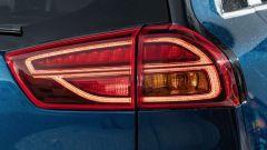 Kia Niro Hybrid 2019, nuovi fari posteriori a Led