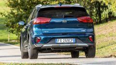 Kia Niro Hybrid 2019, vista posteriore
