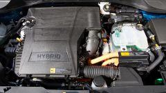 Kia Niro Hybrid: il motore a benzina da 1,6 litri è accoppiato a un elettrico da 32 kW
