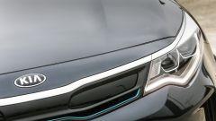 Kia Optima PHEV: la griglia è intelligente e si adatta ai flussi d'aria