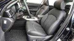 Kia Optima PHEV: la posizione di guida è comoda e sufficientemente bassa