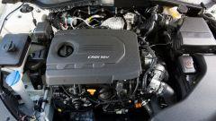 Kia Optima Sportswagon ha un solo motore diesel: il 1.7 da 141 cv e 340 Nm di coppia