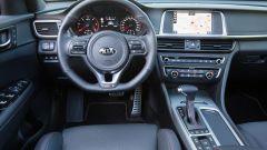 Kia Optima Sportswagon in allestimento GT-Line vanta interni gli in pelle