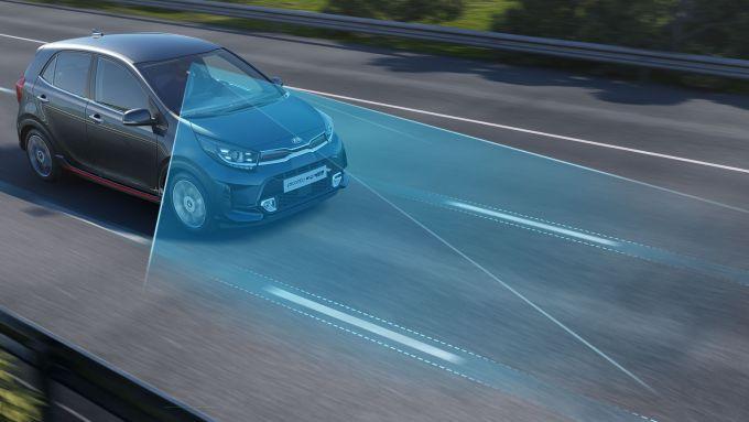 Kia Picanto 2020, nuove tecnologie di assistenza alla guida