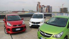 KIA Picanto 2016 vs Opel Karl vs Suzuki Celerio - Immagine: 2