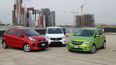 KIA Picanto 2016 vs Opel Karl vs Suzuki Celerio - Immagine: 3