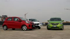 KIA Picanto 2016 vs Opel Karl vs Suzuki Celerio - Immagine: 4