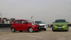 KIA Picanto 2016 vs Opel Karl vs Suzuki Celerio - Immagine: 6