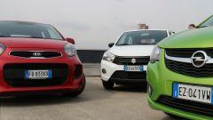KIA Picanto 2016 vs Opel Karl vs Suzuki Celerio - Immagine: 9